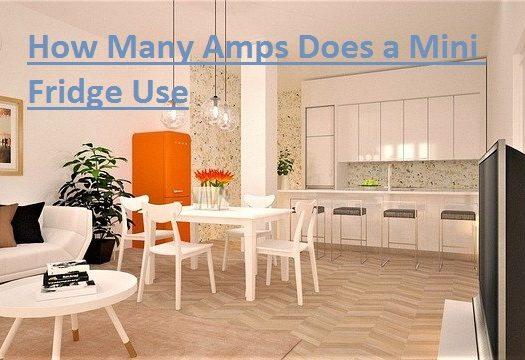 How Many Amps Does a Mini Fridge Use
